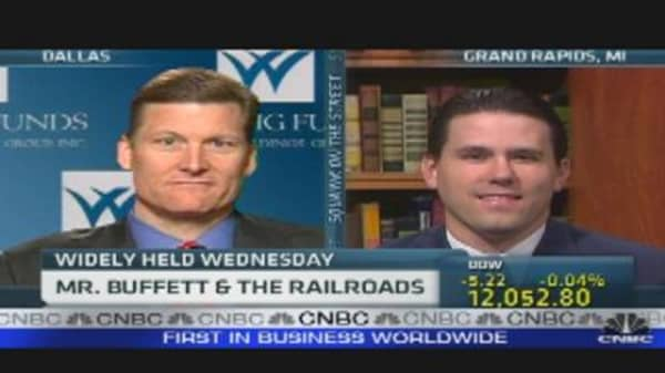 Mr. Buffett & the Railroads