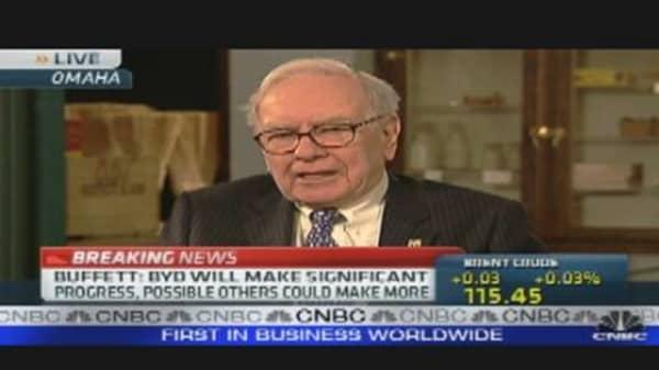 Buffett's 'Electric' Stake