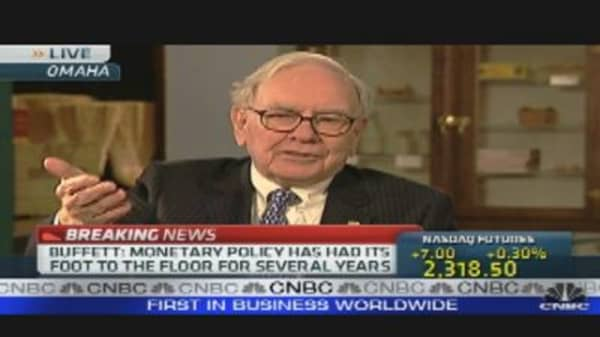 Buffett on SEC's Insider Charge