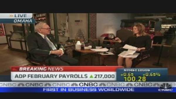 Buffett Bullish on Economy