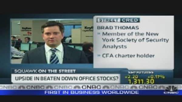 Upside in Office Stocks?
