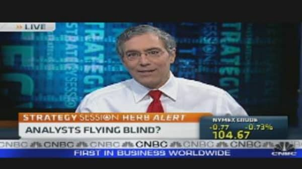 Analysts Flying Blind?