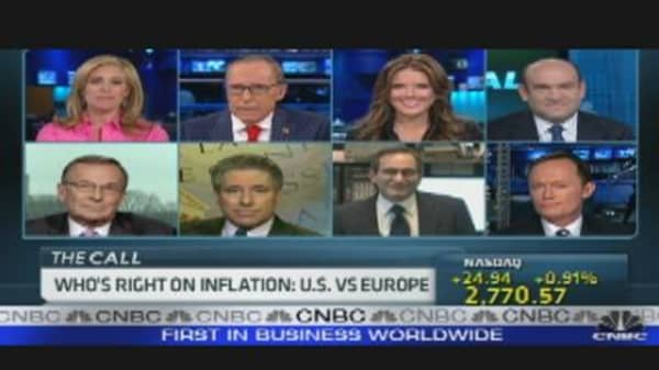 US vs. Europe on Inflation, Pt. 2
