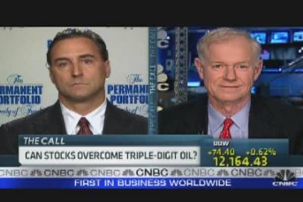 Oil's Weight on Stocks
