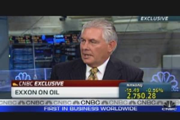 Exxon CEO on Oil Speculation