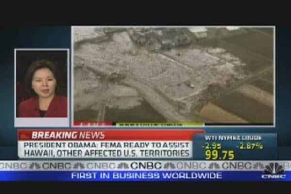 Quake Shuts Japan Plants