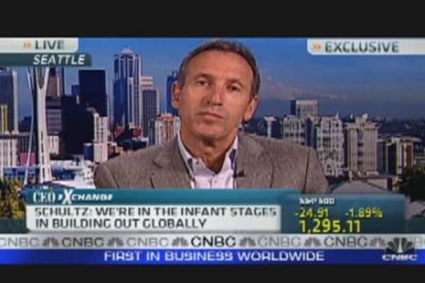 Starbucks CEO on Green Mountain