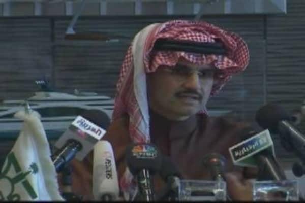 Al Waleed on Saudi Market