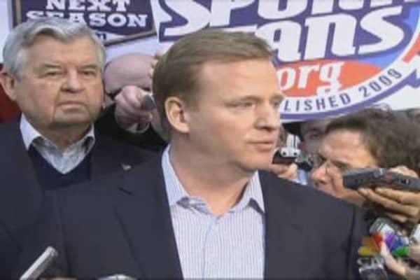 NFL Commissioner on Negotiations