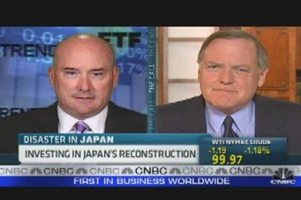 Investing in Japan's Reconstruction