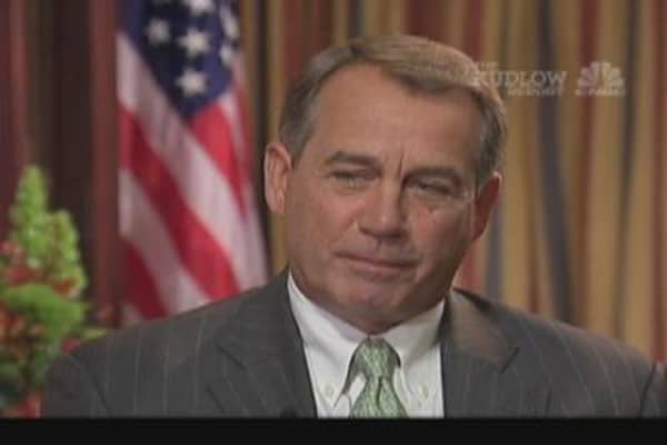 Boehner on Japan, Nuclear Industry