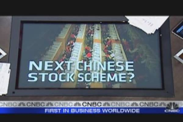Next Chinese Stock Scheme?