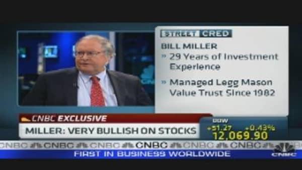 Miller:  Bullish on Stocks