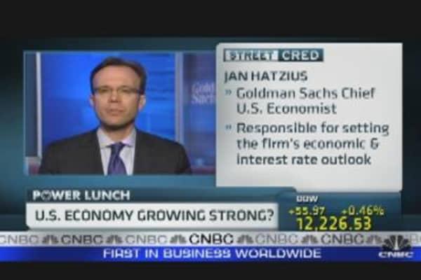 U.S. Economy Growing Strong?