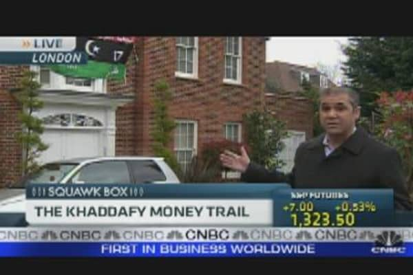 Gaddafi's Money Trail