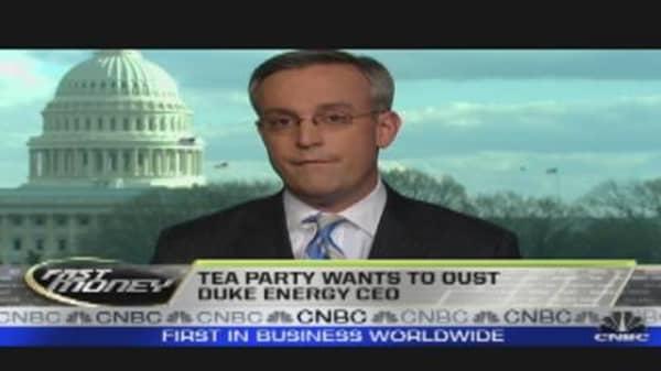 When Tea Party & Markets Collide