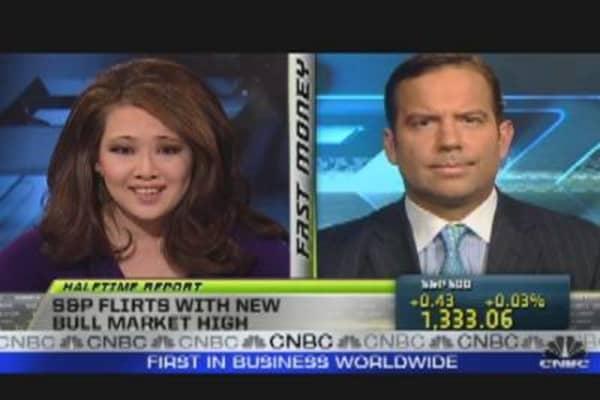 S&P Flirts With New Bull Market