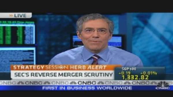 SEC's Chinese Reverse Merger Scrutiny