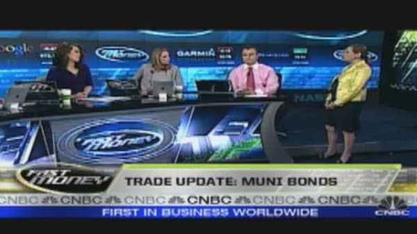 Trade Update: Muni Bonds