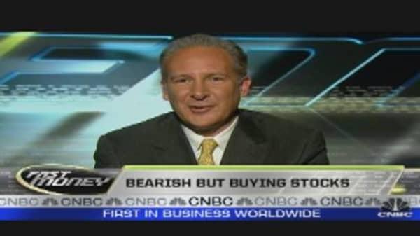 Bearish But Buying Stocks