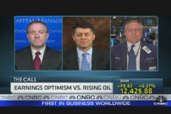 Earnings Optimism vs. Rising Oil