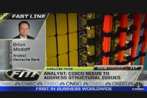 Analyze This: Cisco Reshuffles