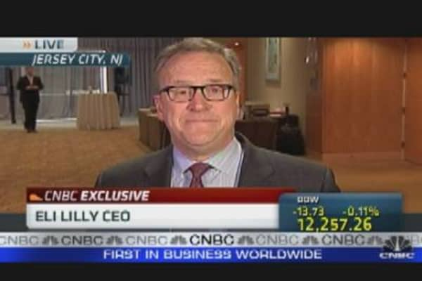Lilly CEO on Deficit & Pharmaceutical Industry