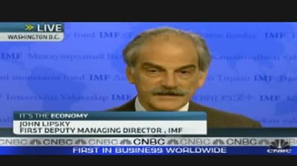 IMF's Lipsky on European Debt