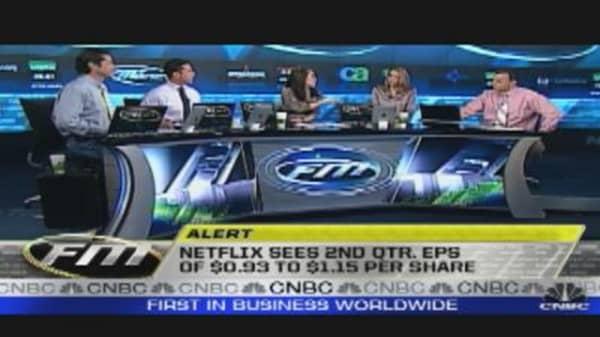 Netflix Falls After Earnings Miss