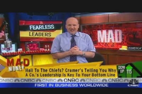 Cramer on Fearless Leaders