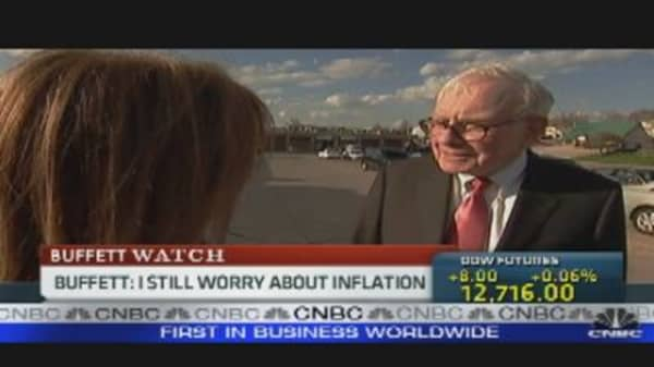 Buffett on Inflation
