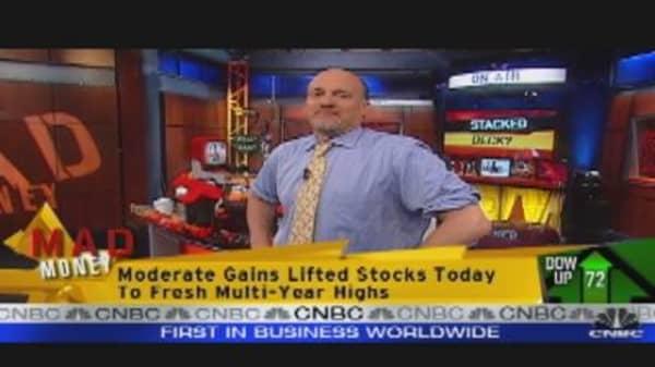 Stocks Hit New Highs