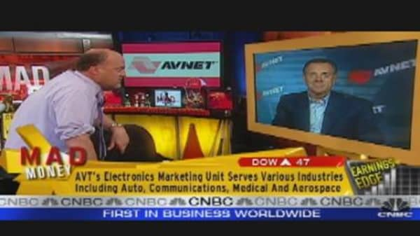Avnet CEO Talks Earnings