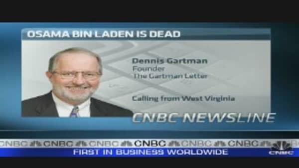 Gartman: Bin Laden Now a 'Martyr'