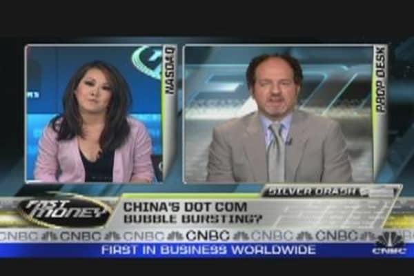 China's Dotcom Bubble Bursting?