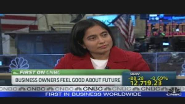 Business Owners Feel Good About Future