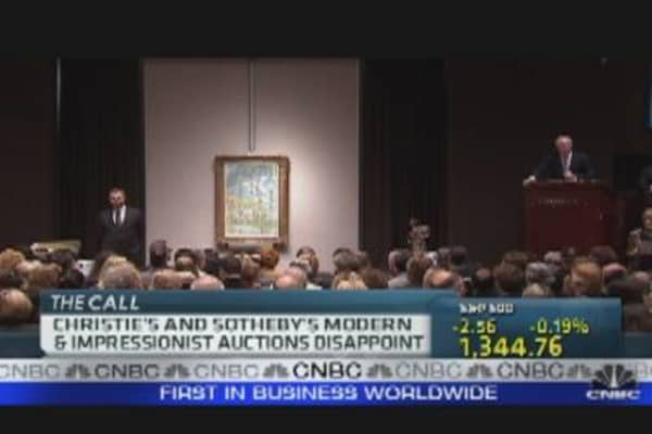 Sotheby's 'Impressionist' Auction