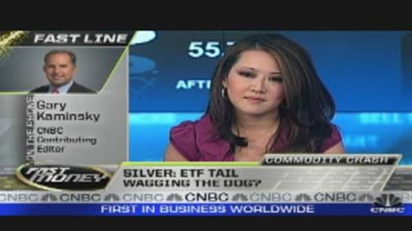 Silver: ETF Tail Wagging thr Dog?