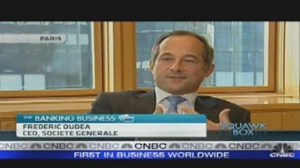 Banks Can Absorb Greek Debt Restructuring: SocGen CEO