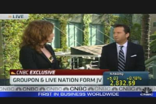 Live Nation-Groupon Deal