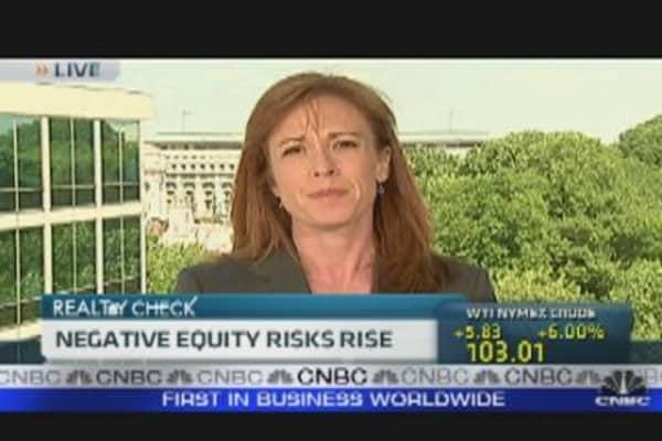 Negative Equity Risks Rise