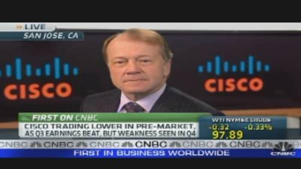 Cisco CEO on Earnings