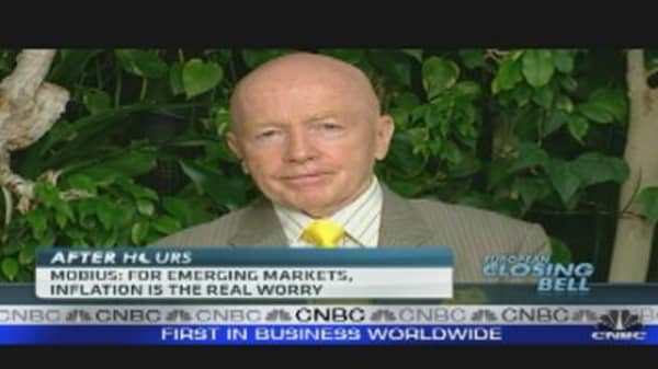 Commodities Will Fluctuate But Rise: Mobius