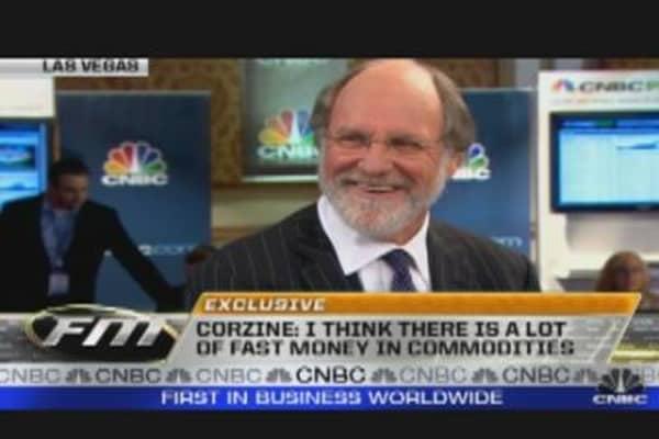 Corzine Talks Volatility Trade