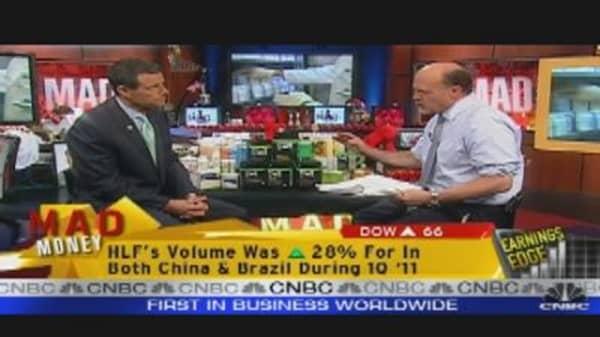 Herbalife CEO Talks Earnings