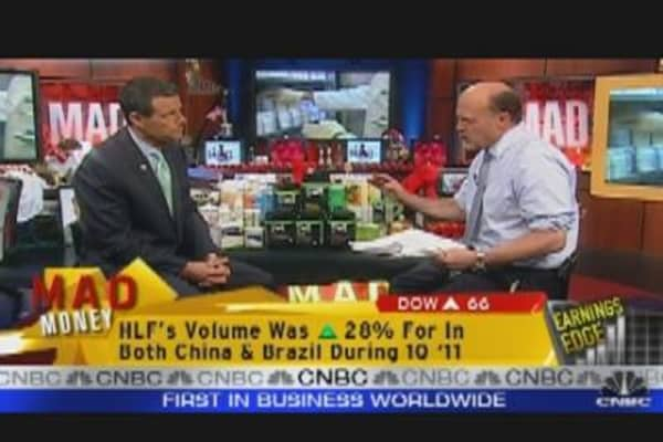 Herbalife CEO Talks Earnings