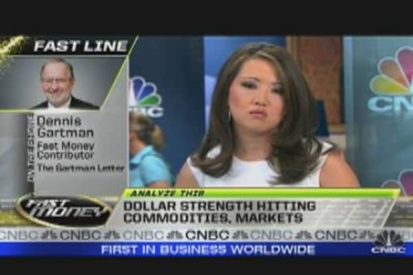 Dollar's Strength Hits Commodities
