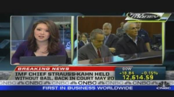Strauss-Kahn Denied Bail