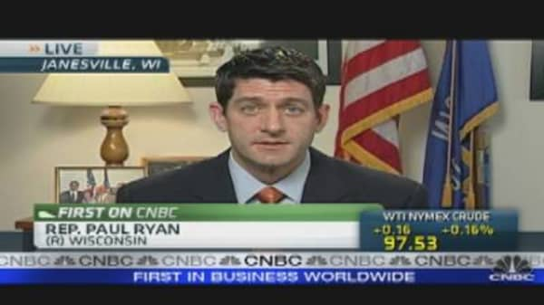 Rep. Ryan's Economic Message
