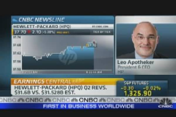 HP Cuts Full-Year Outlook